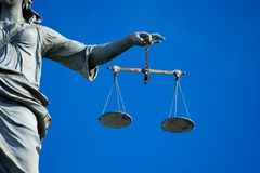 Lady Justice royalty free stock images