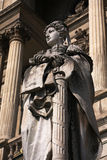 Lady Justice. In front of the town hall in Bilbao, Spain stock photo