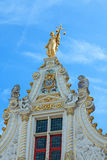 Lady of justice in Bruges Royalty Free Stock Photography