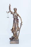 Lady justice figure Royalty Free Stock Photo
