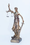 Lady justice figure Royalty Free Stock Images