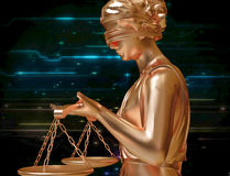 Lady of justice Royalty Free Stock Photos