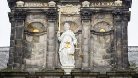 Lady justice statue Royalty Free Stock Images