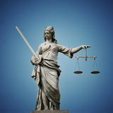 Lady Justice Stock Photography