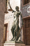 Lady of Justice statue Royalty Free Stock Photo