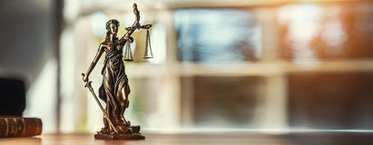 Lady Justice Statue Royalty Free Stock Photo