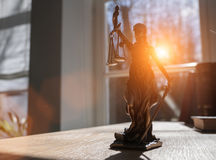 Lady Justice Statue Royalty Free Stock Image