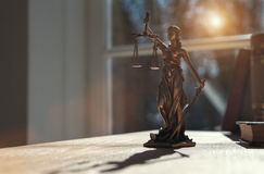 Lady Justice Statue Royalty Free Stock Photography
