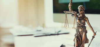 Lady Justice Statue Stock Photography