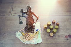 Lady Justice Statue Stock Images