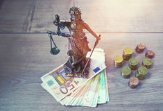 Lady Justice Statue Royalty Free Stock Photos