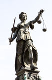 Lady Justice Royalty Free Stock Photography