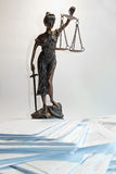 Lady Justice - Temida - Themis Royalty Free Stock Image