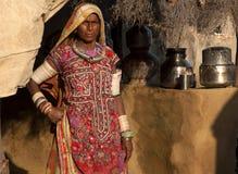 Lady of Kutch, Gujarat, India Royalty Free Stock Photography