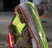 Lady of Kutch, Gujarat Stock Image