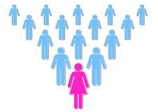 Lady Leadership Stock Photos