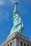 Lady Liberty. The Statue of Liberty near Ellis Island in New York City, New York. The statue was a gift from France to show its friendship with the United States Royalty Free Stock Images