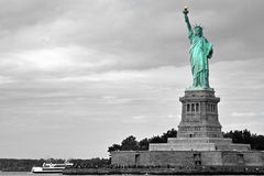 Lady Liberty - Color Emphasis Stock Photo