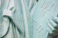 Lady Liberty detail Stock Photos