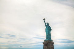 Lady Liberty statue in New York Royalty Free Stock Photo