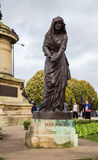 Lady Macbeth. Monument in Stratford upon Avon Stock Image