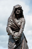 Lady Macbeth. The statue of Lady Macbeth taken in the Shakepeare memorial gardens in Stratford upon Avon, England, UK Royalty Free Stock Image