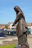 Lady Macbeth, Stratford-upon-Avon. Lady Macbeth at the Gower Memorial, Stratford-upon-Avon, Warwickshire, England, UK, Western Europe Stock Photography