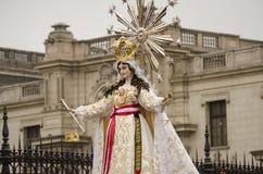 Lady of Mercy. Peru Royalty Free Stock Photos