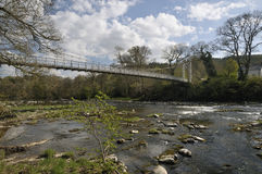 Lady Milford's Suspension Bridge Stock Image