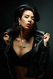 Lady mistress Stock Photo