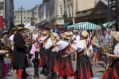 Lady Morris Dancers Stock Photo