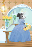 Lady Mouse of the House Stock Photography