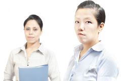 Lady office staffs Royalty Free Stock Image