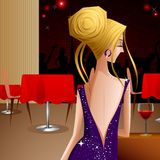 Lady in Party Royalty Free Stock Photos