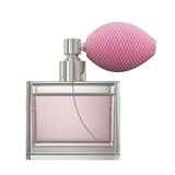 Lady perfume isolated on white background Royalty Free Stock Image