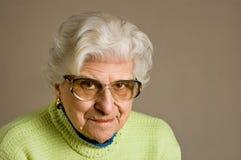 lady portrait senior Στοκ φωτογραφία με δικαίωμα ελεύθερης χρήσης