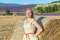 Lady in Provence Royalty Free Stock Photography