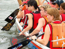 Lady Rowers Stock Photography