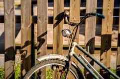 Lady' s自行车 免版税库存图片