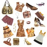 Lady's clothes stock photography