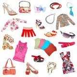 Lady's clothes Stock Image