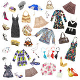 Lady's clothes Stock Photo
