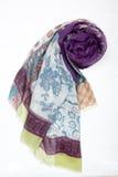 Lady's neckerchief. On white background Royalty Free Stock Photos