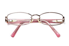 Lady's reading glasses Royalty Free Stock Photos