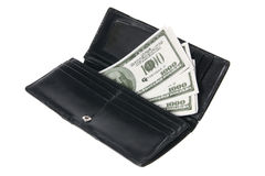 Lady's Wallet Stock Photos