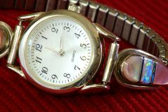 Lady's Wristwatch Royalty Free Stock Images