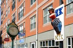 Lady of Salem statue, Salem, Massachusetts Royalty Free Stock Photography