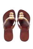 Lady sandals Royalty Free Stock Photo