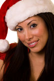 Lady Santa Royalty Free Stock Image
