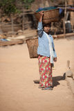 Lady Of Shin Myanmar Stock Photo